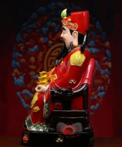 tượng thần tài quan lộc áo đỏ 4