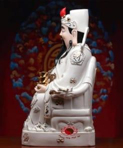 tượng thần tài quan lộc áo trắng 4