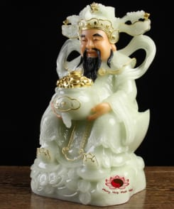 tượng thần tiền thần phát màu xanh 9