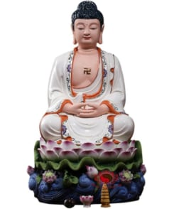 tượng thờ a di đà phật gốm sứ cao cấp 7