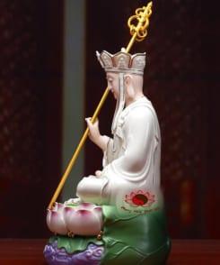 tượng thờ bằng sứ địa tạng vương bồ tát 4