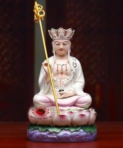 tượng thờ bằng sứ địa tạng vương bồ tát 5