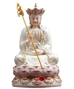tượng thờ đức địa tạng đẹp bằng sứ 5