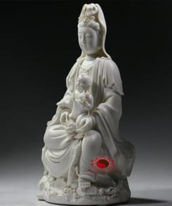 tượng thờ quan âm tống tử cầu con 6