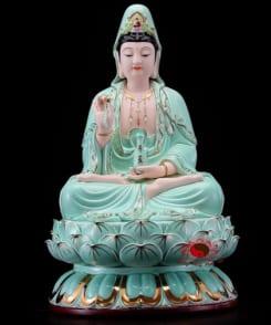 tượng thờ tây phương tam thánh 3