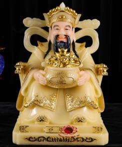 tượng thờ thần phát màu vàng cao cấp 5