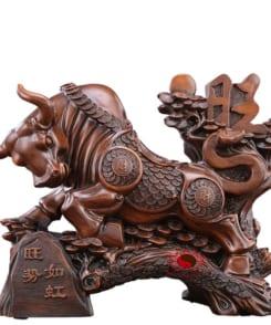tượng trâu phong thủy vượng thế 4