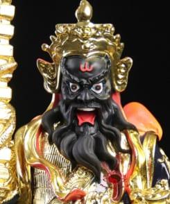 tượng võ thần tài mặt đen 4