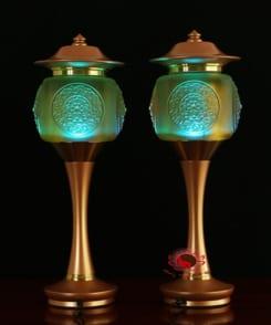 cặp đèn thờ điện đẹp 3