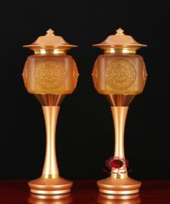 cặp đèn thờ điện đẹp 4