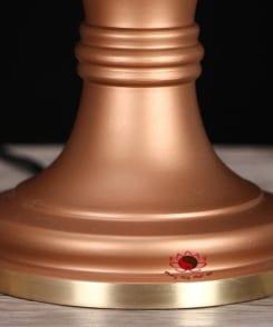cặp đèn thờ trước phật bằng đồng 4