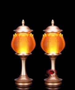 đèn cúng bàn phật 7