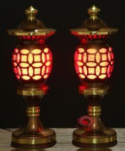 đèn thờ bằng đồng cao cấp 7