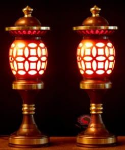 đèn thờ bằng đồng đẹp 6