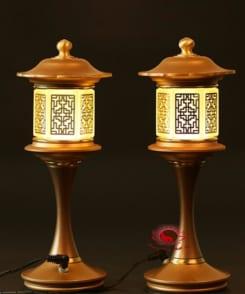 đèn thờ bằng đồng kiểu xưa 6