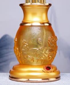 đèn thờ bảy hoa sen điện 4