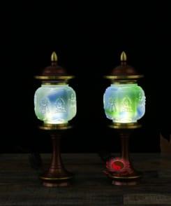 đèn thờ cao cấp bằng đồng nguyên chất 4