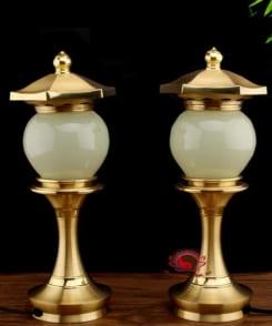 đèn thờ cao cấp bằng ngọc cẩm thạch 7