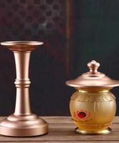 đèn thờ cao cấp đồng nguyên chất 4
