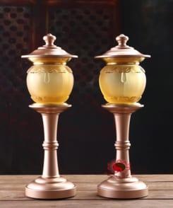 đèn thờ cao cấp đồng nguyên chất 5