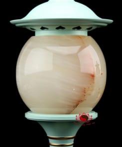 đèn thờ cao cấp phối ngọc cẩm thạch 6
