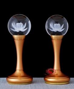 đèn thờ cúng hoa sen 6