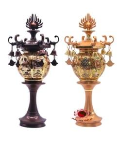 đèn thờ điện bằng đồng cao cấp 6