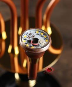 đèn thờ điện búp sen bằng đồng cao cấp 4