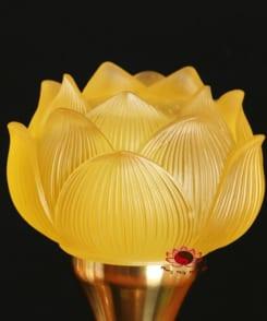 đèn thờ điện hoa sen đẹp 3