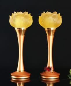 đèn thờ điện hoa sen đẹp 4