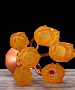 đèn thờ hoa sen bằng điện 4
