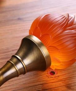 đèn thờ hoa sen cỡ nhỏ 3