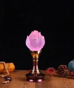 đèn thờ hoa sen cỡ nhỏ 4