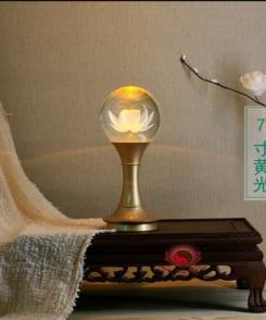 đèn thờ hoa sen giá rẻ 2