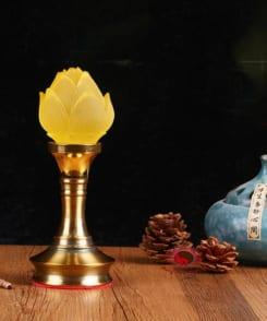 đèn thờ hoa sen nhiều kích cỡ 4