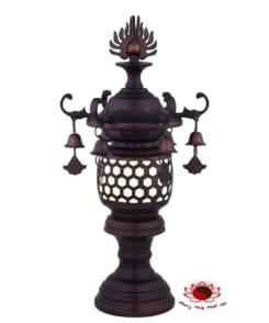 đèn thờ kiểu cổ điển bằng đồng 3