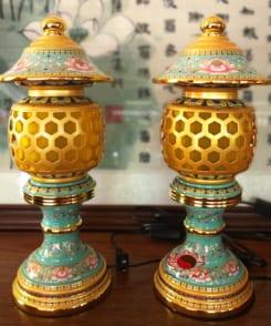 đèn thờ kiểu đài loan đẹp 4